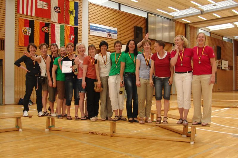Bronze bei den Deutschen Meisterschaften (Ü43)