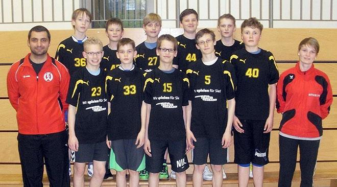 U14-Jungs mit zu großem Respekt bei den Deutschen Meisterschaften