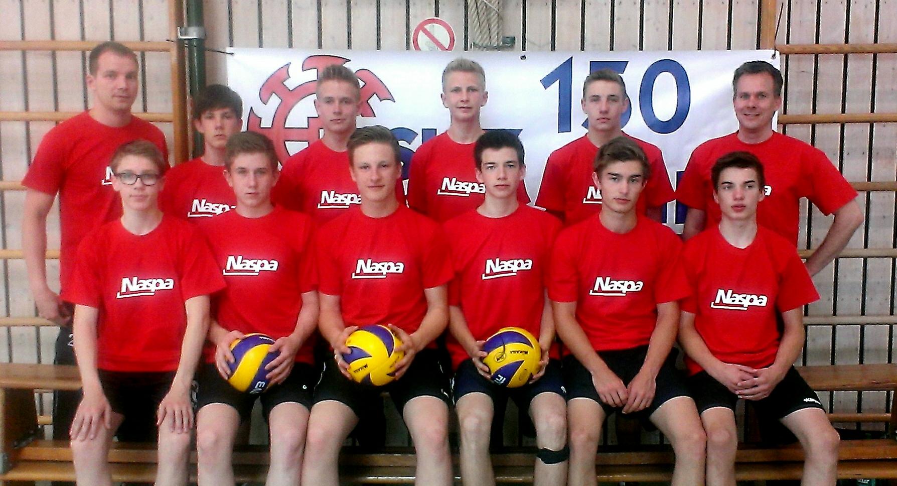 NASPA unterstützt U16