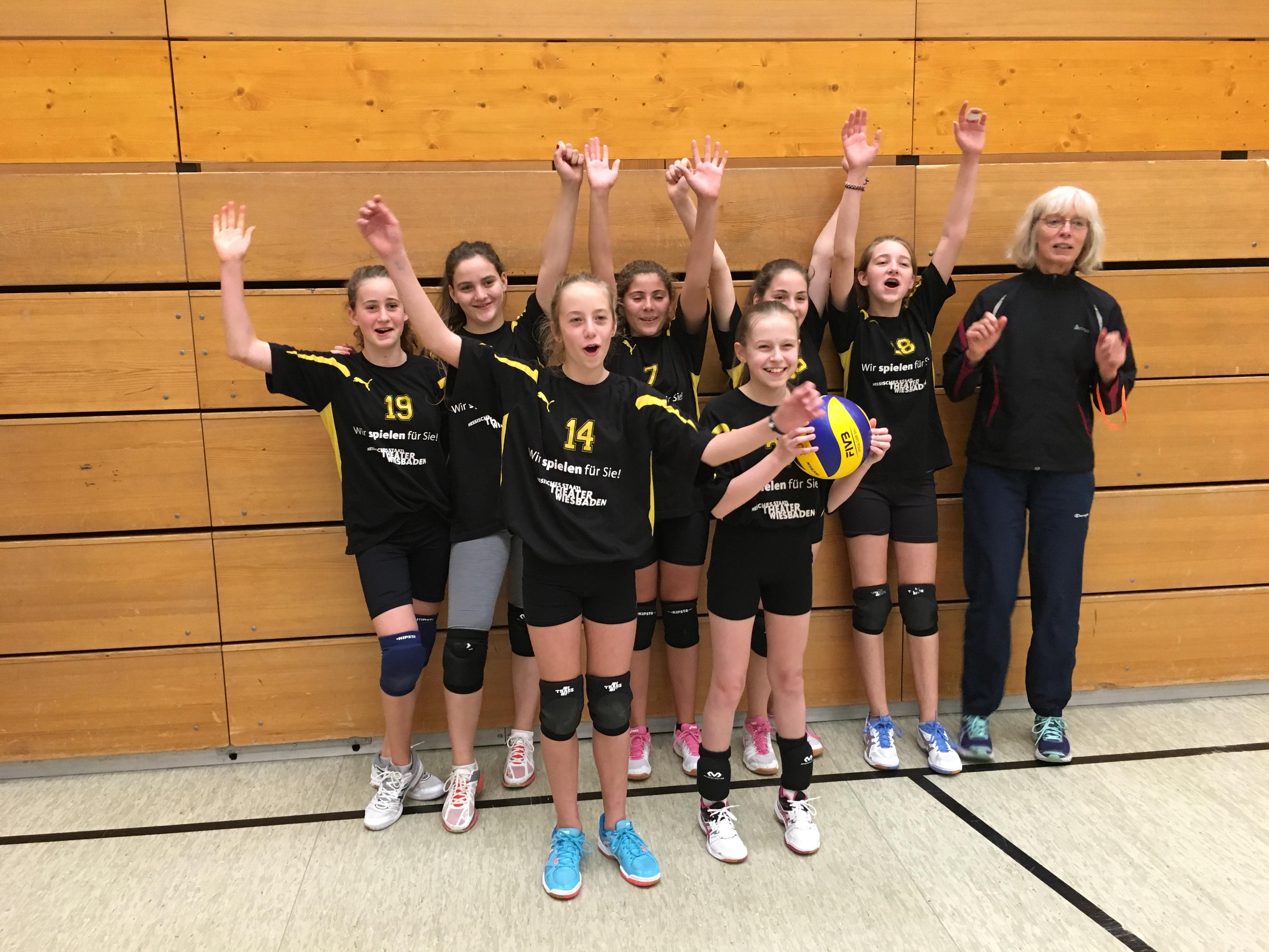 1. Platz beim U 15 Jugend Bezirksrundenturnier der FTG in Frankfurt