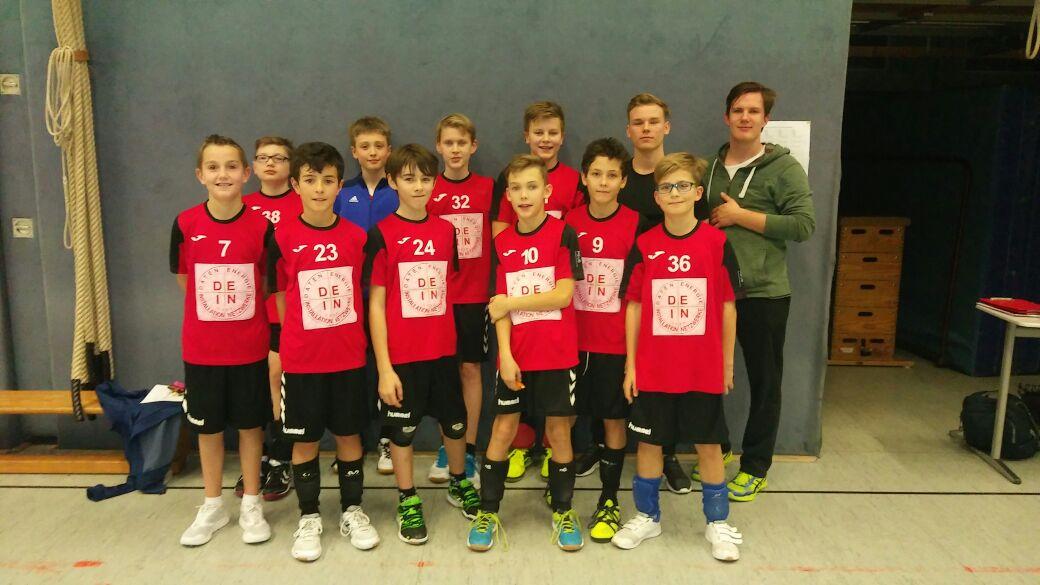 U13 männlich – 3 Teams qualifizieren sich für die Bereichsmeisterschaften