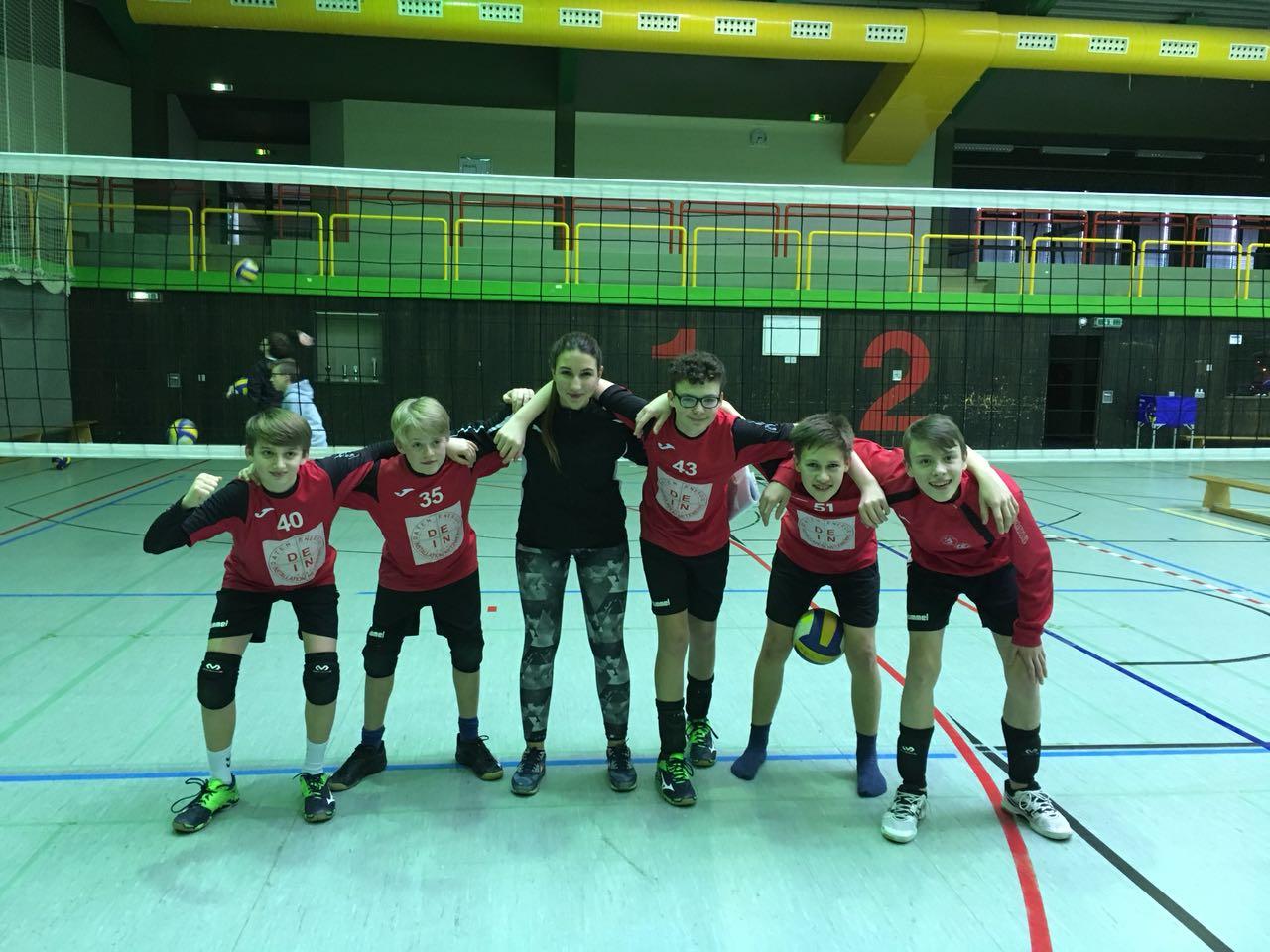 U15m-1 belegt Platz 5 in der Oberliga