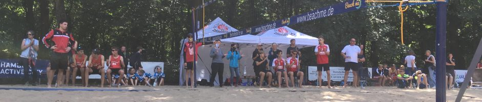 U15m bei der Beach DM in Hamburg