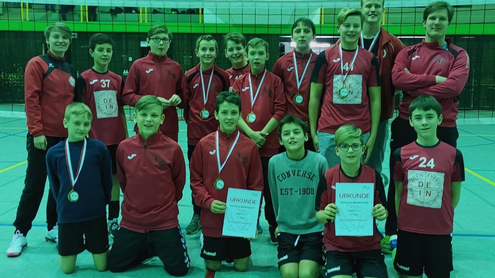 U14m mit sensationellem Ergebnis bei der Hessenmeisterschaft