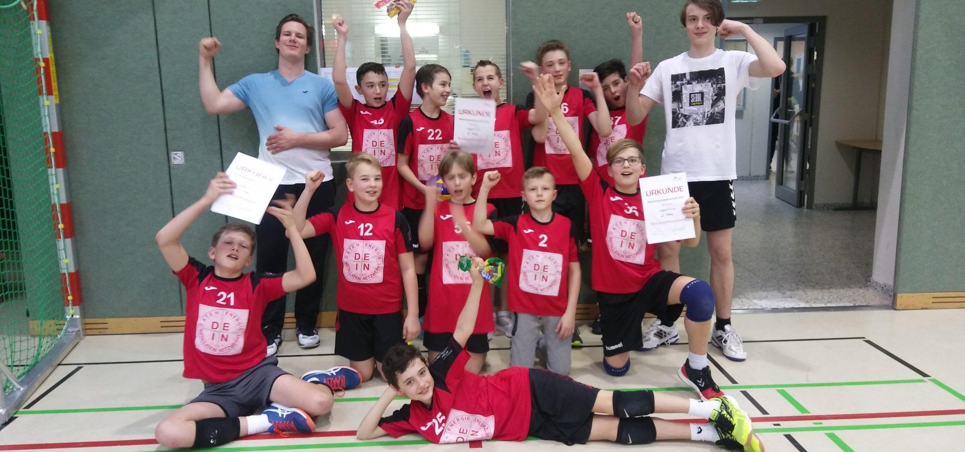 U13m mit zwei Teams bei der Hessischen Meisterschaft