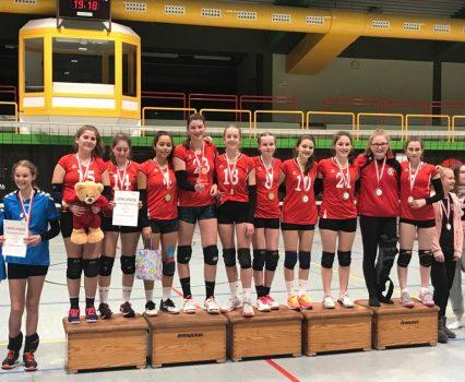 U16w holt den Hessenjugendpokal!